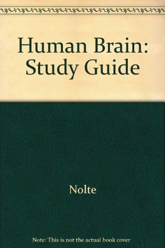 9780801657382 human brain study guide abebooks john nolte 9780801657382 human brain study guide ccuart Image collections