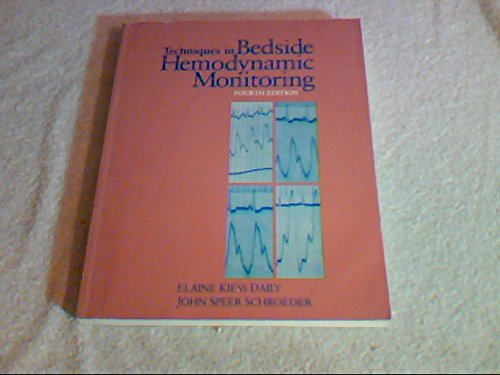 9780801657580: Techniques in Bedside Hemodynamic Monitoring