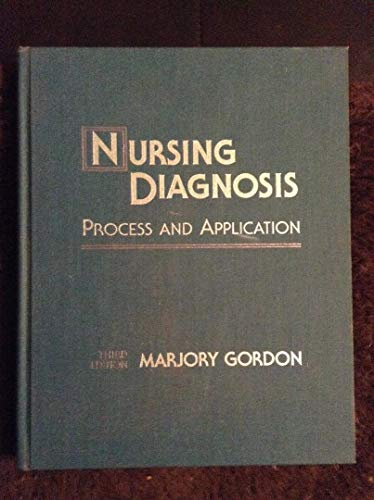9780801660535: Nursing Diagnosis: Process and Application, 3e