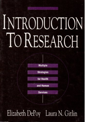 9780801662843: Introduction to Research: Multiple Strategies for Health and Human Services
