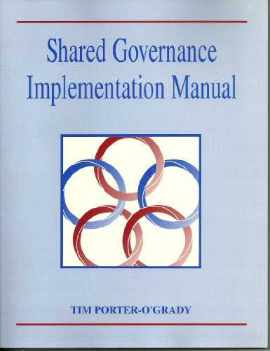 9780801663178: Shared Governance Implementation Manual