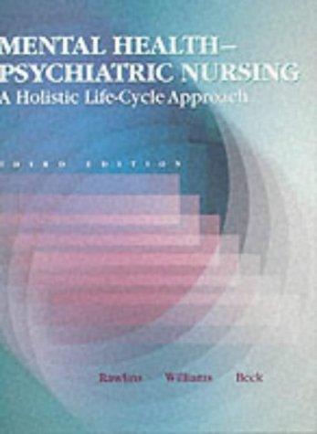 Mental Health-Psychiatric Nursing: Ruth Parmelee Rawlins,