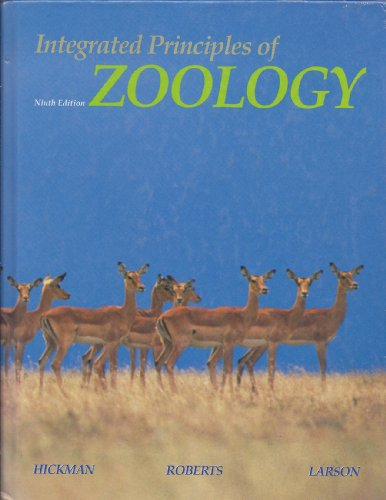 9780801663758: Integrated Principles of Zoology