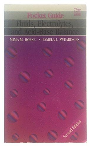 9780801666896: Pocket Guide to Fluid, Electrolyte, and Acid-Base Balance