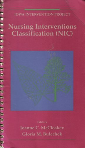 9780801667015: Nursing Interventions Classification (Nic)
