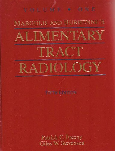 9780801667077: Margulis and Burhenne's Alimentary Tract Radiology