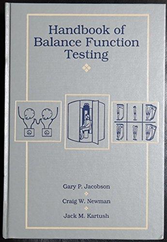 9780801668142: Handbook of balance function testing