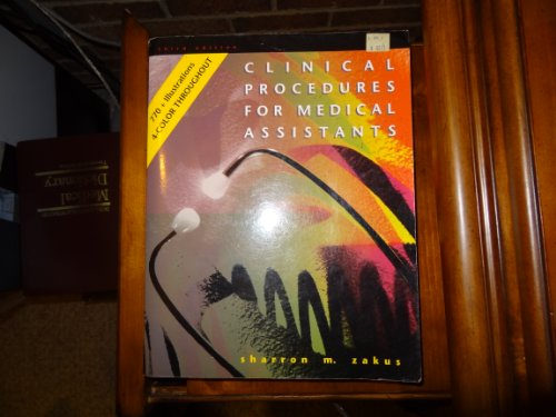 9780801669835: Clinical Procedures for Medical Assistants