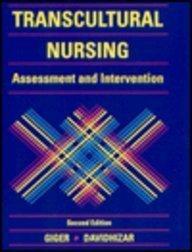 9780801674112: Transcultural Nursing: Assessment and Intervention