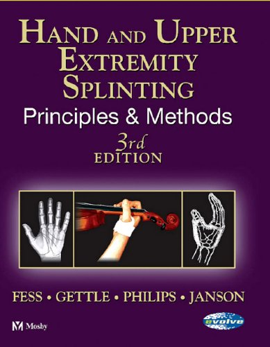 9780801675225: Hand and Upper Extremity Splinting: Principles and Methods