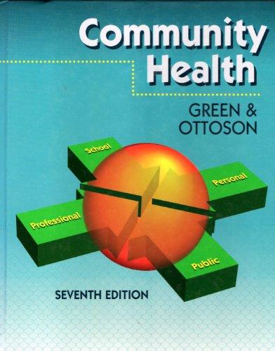 9780801678981: Community Health