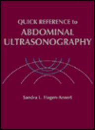 Ultrasonography Quick Reference, 1e: Hagen-Ansert MS RDMS