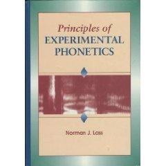 9780801679759: Principles of Experimental Phonetics