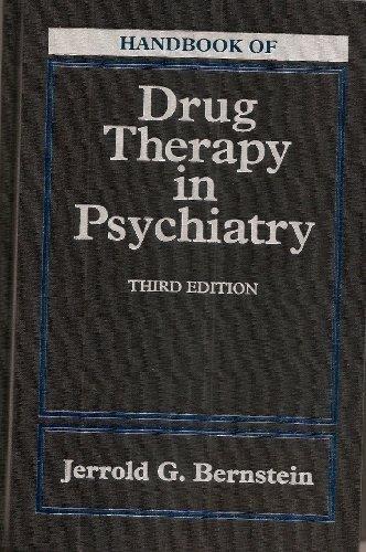 9780801681011: Handbook of Drug Therapy In Psychiatry, 3e
