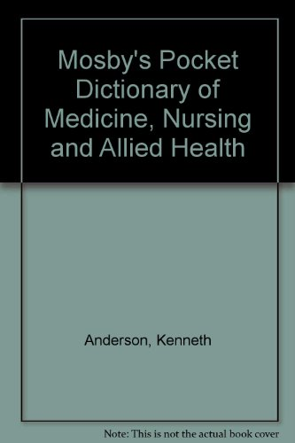 9780801689727: Mosby's Pocket Dictionary of Medicine, Nursing and Allied Health