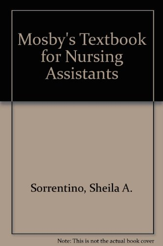 9780801689857: Mosby's Textbook for Nursing Assistants
