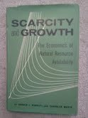 9780801800566: Scarcity and Growth: The Economics of Natural Resource Availability (RFF Press)