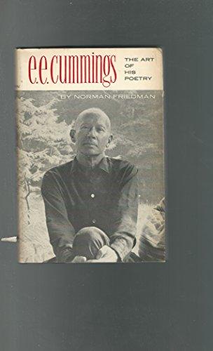 9780801802072: E.E. Cummings: The Art of His Poetry