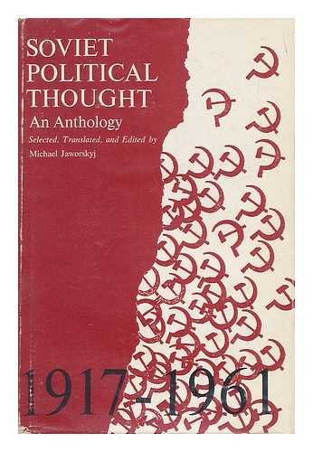 9780801803161: Soviet Political Thought: An Anthology