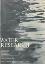 Water Research: Economic Analysis, Water Management, Evaluation