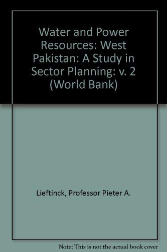 9780801810053: Water and Power Resources: West Pakistan (World Bank) (v. 2)