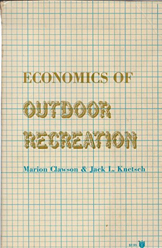 9780801813023: Economics of Outdoor Recreation (RFF Press)