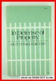 9780801813269: In Defense of Property