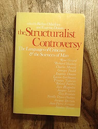 9780801813818: Structuralist Controversy the Languages of Criticism