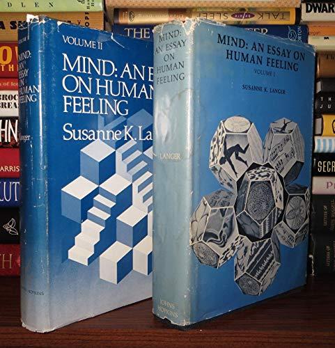 Mind: An Essay on Human Feeling: Volume 2 (Volume 2) - Langer, Susanne K.