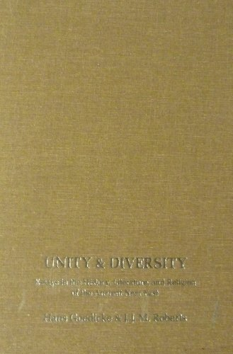 UNITY AND DIVERSITY: ESSAYS IN THE HISTORY, LITERATURE, AND RELIGION OF THE ANCIENT NEAR EAST (...