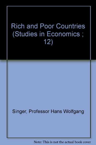 9780801819339: Rich and Poor Countries (Studies in Economics ; 12)