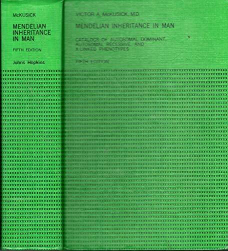 9780801820878: Mendelian Inheritance in Man: Catalogs of Autosomal Recessive & X-Linked Phenotypes