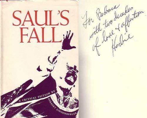 9780801821769: Saul's Fall: A Critical Fiction