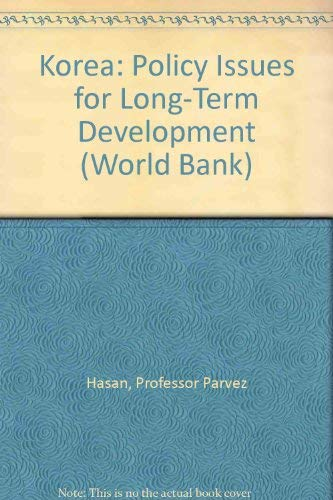 9780801822292: Korea: Policy Issues for Long-Term Development (World Bank)