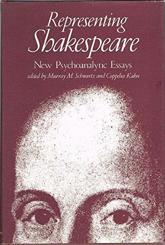 9780801823022: Representing Shakespeare: New Psychoanalytic Essays
