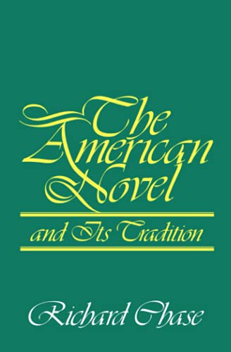 9780801823039: The American Novel and Its Tradition