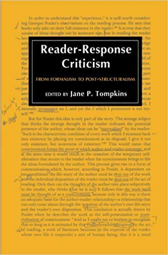 9780801824005: Reader-response Criticism: From Formalism to Post-structuralism