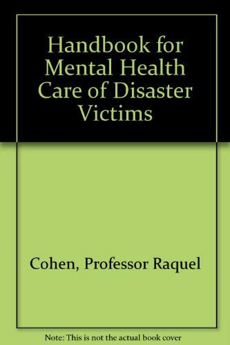 9780801824272: Handbook for Mental Health Care of Disaster Victims