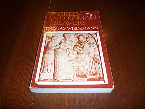 9780801825149: Greek and Roman Slavery