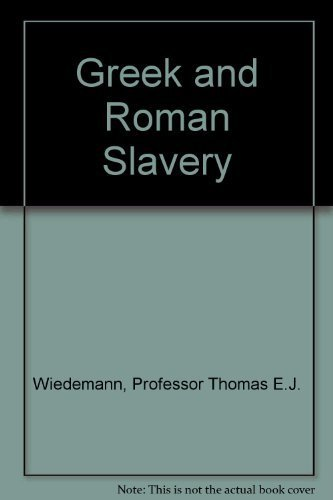 9780801825156: Greek and Roman Slavery