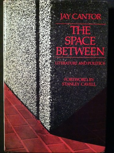 The Space Between: Literature and Politics: Professor Jay Cantor