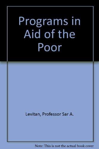 Programs in Aid of the Poor Levitan,