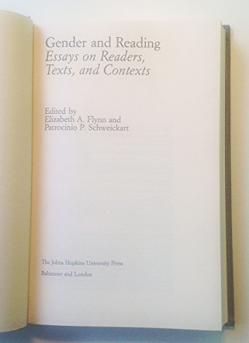 9780801829055: Gender and Reading: Essays on Readers, Texts and Contexts