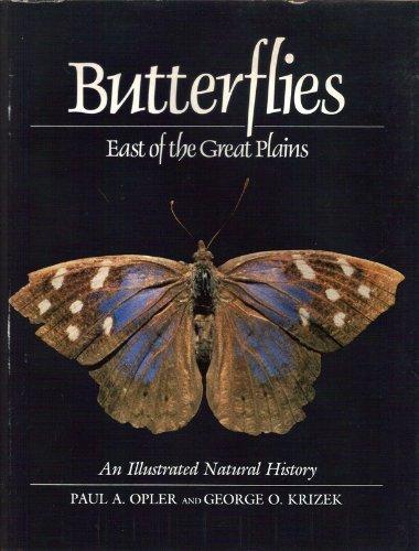 Butterflies East of the Great Plains: An: Krizek, Professor George,