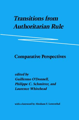 9780801831928: Transitions from Authoritarian Rule: Comparative Perspectives: Prospects for Democracy: Volume 3