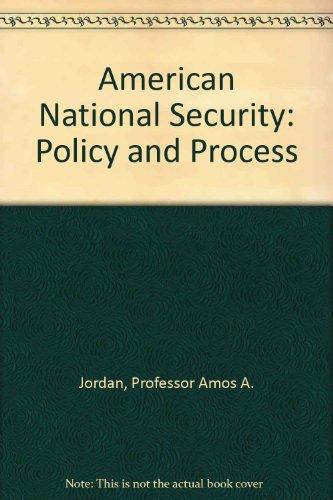 American National Security: Jordan, Professor Amos