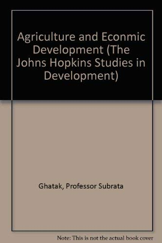 9780801832253: Agriculture and Econmic Development (The Johns Hopkins Studies in Development)