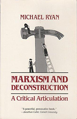 9780801832482: Marxism and Deconstruction: A Critical Articulation