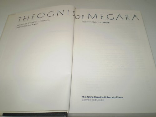 9780801832505: Theogonis of Megara: Poetry and the Polis