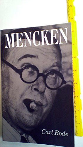 9780801834042: Mencken (Maryland Paperback Bookshelf)